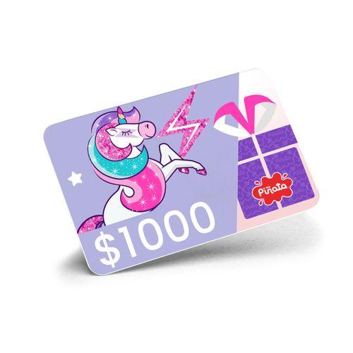 Unicornio $1000