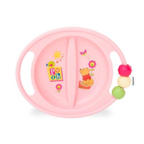 Plato Baby Pooh ABC Rosa